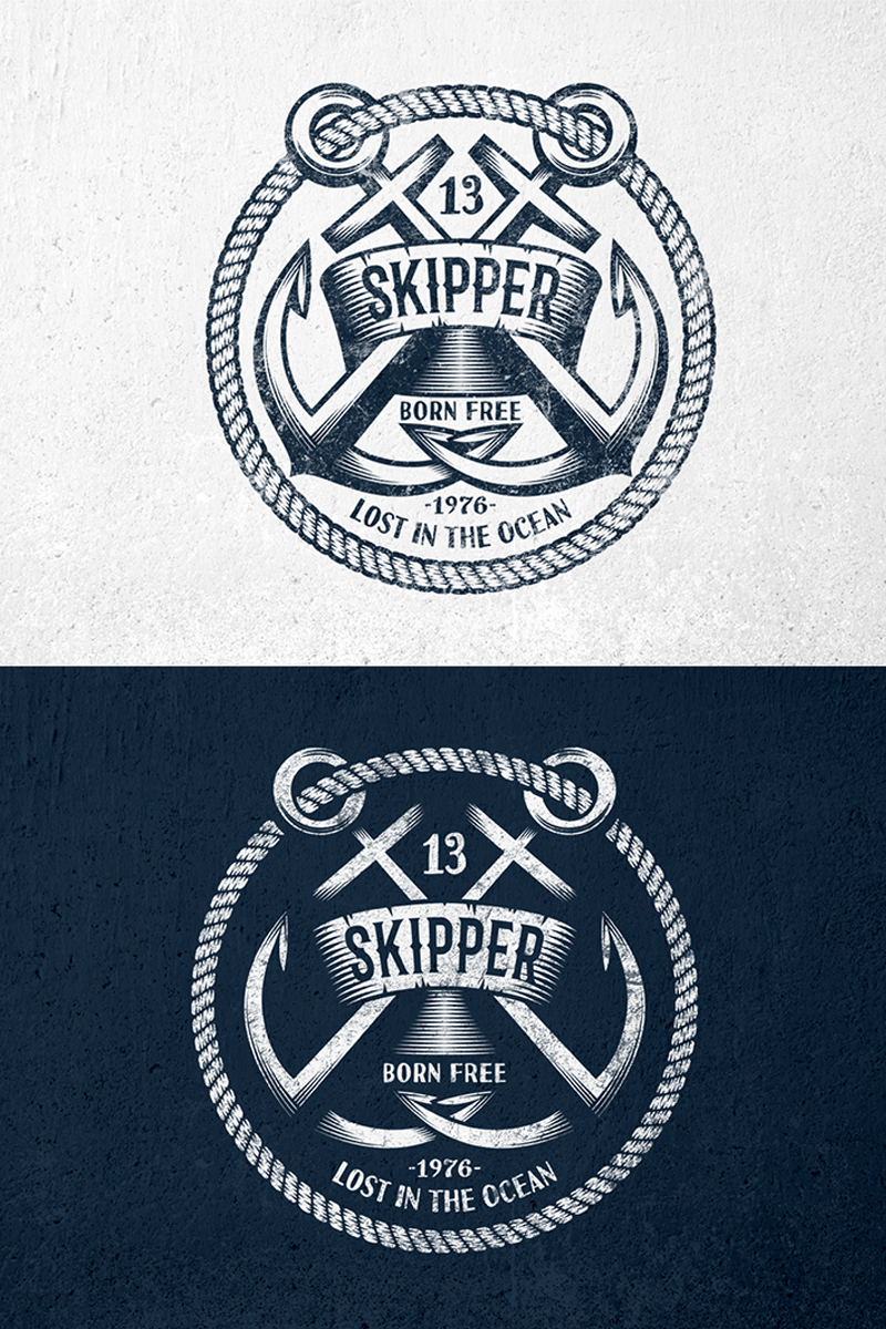 Skipper anchor logo template 65540 thecheapjerseys Images