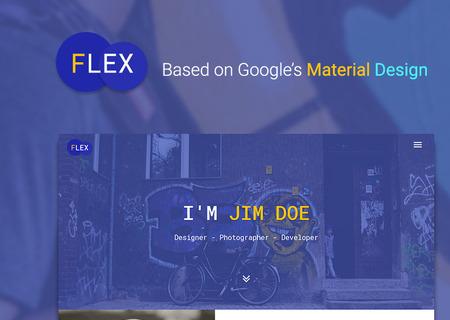 Flex - Portfolio & Resume
