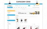 Tema de PrestaShop para Sitio de Repuestos de coches