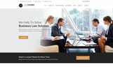"Joomla Vorlage namens ""Law Chamber - Law Firm"""