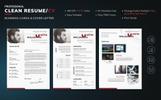 Martin Williams - Photographer & Web Designer Resume Template