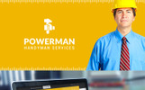 """Powerman - Handyman Services"" 响应式WordPress模板"