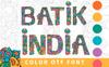 Batik India Color OTF Font Big Screenshot