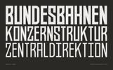 Bahn Pro Family Font