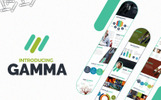 Gamma Template PowerPoint №66041
