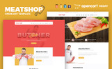 Butcher - Meat Shop eCommerce Template OpenCart  №65752