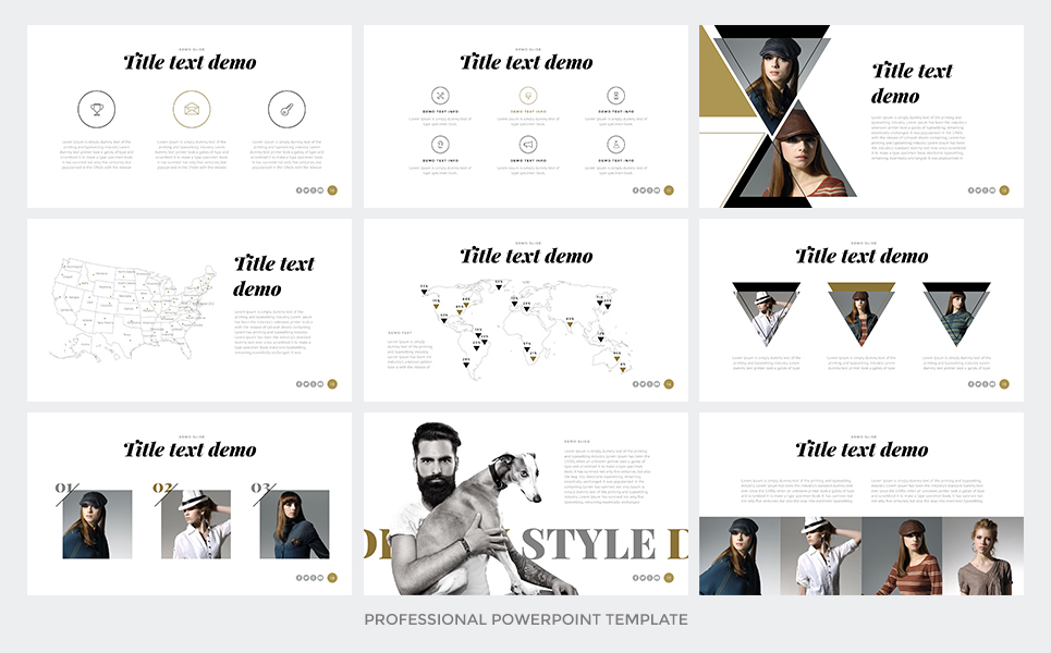 most professional powerpoint template - one modern powerpoint template 65655
