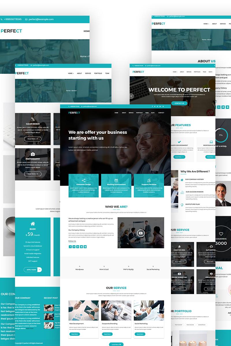 Адаптивный шаблон сайта на тему маркетинговое агентство #65710