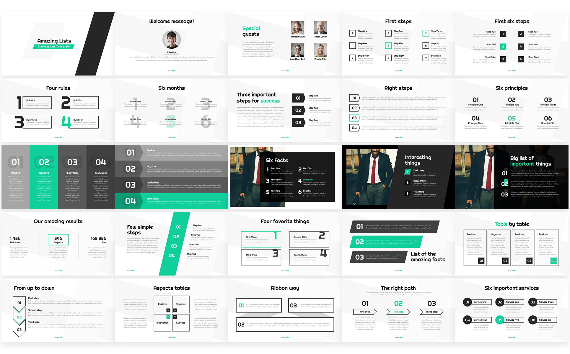 Amazing lists powerpoint template 65642 amazing lists powerpoint template big screenshot toneelgroepblik Image collections