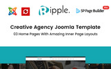 Template Joomla Flexível para Sites de Consultoria №65652