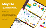 Responsive Admin Template over Web ontwikkeling