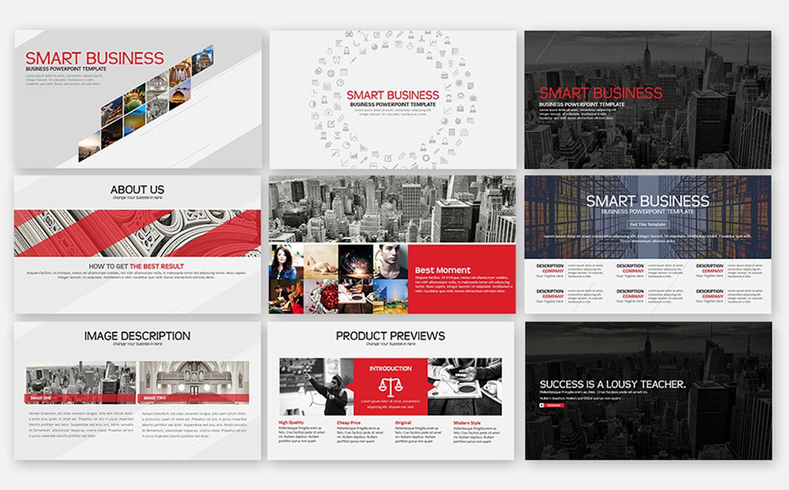 Smart Business Powerpoint Template #65685