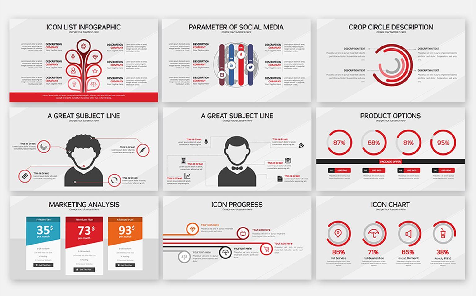 smart business powerpoint template 65685