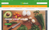 Refresh - Food & Restaurant Website Template Website Template Big Screenshot
