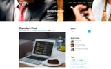 Tema WordPress Bootstrap para Sites de Consultoria №65440