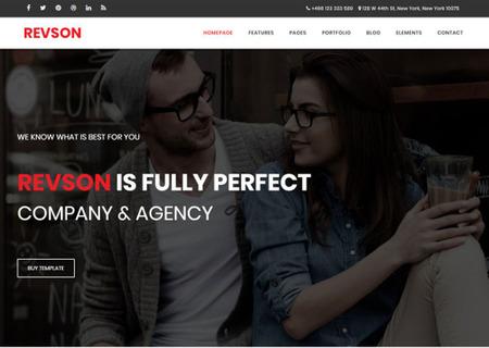 Revson - Multipurpose HTML5