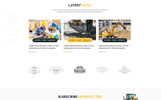 """Simply Construction"" Responsive Website template"