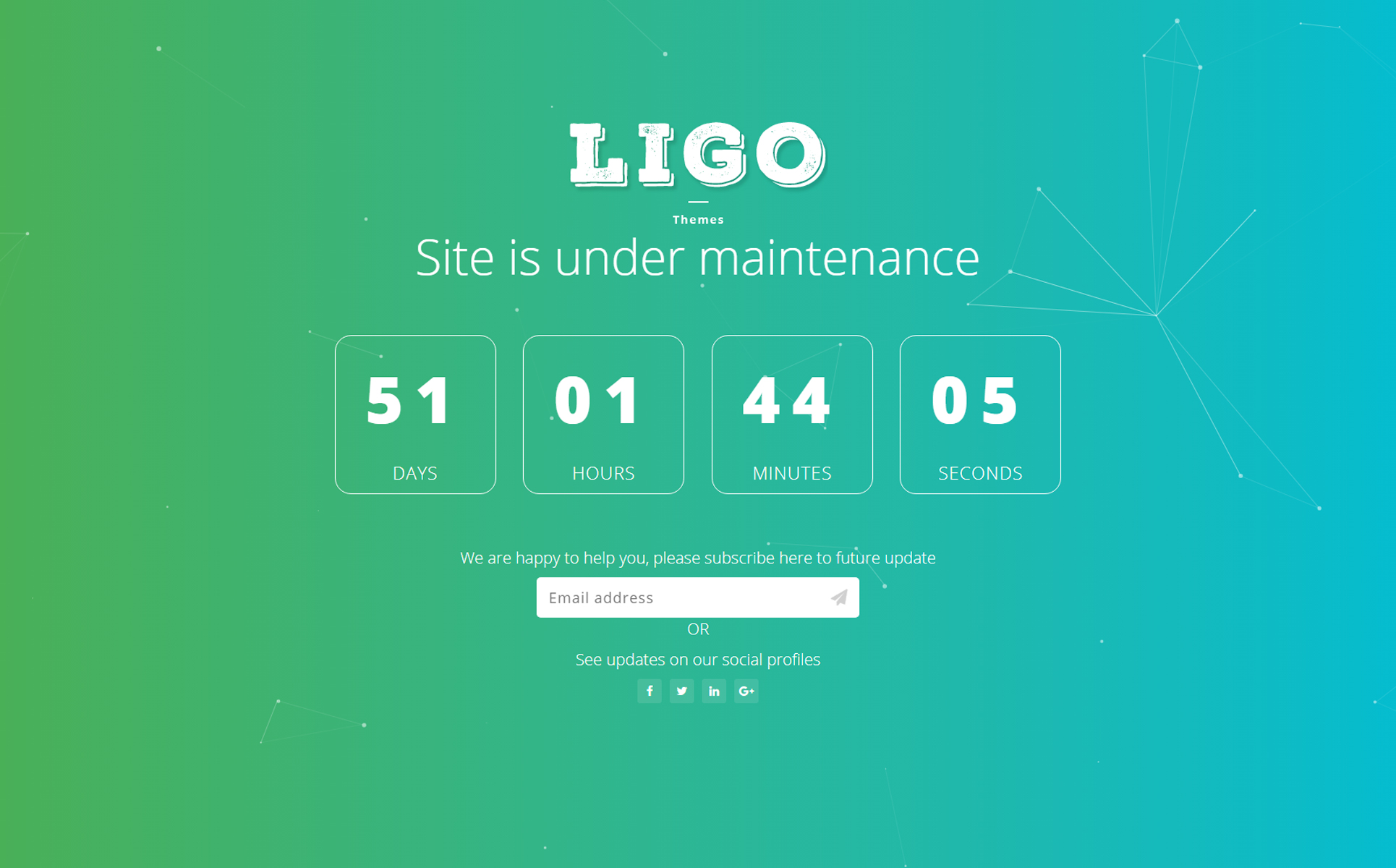 Ligothemes coming soon landing page template 65705 ligothemes coming soon landing page template big screenshot zoom in live demo maxwellsz