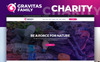 Gravitas - Charity MotoCMS 3 Templates de Landing Page  №75187 New Screenshots BIG
