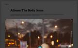 Shots Photogallery - PSD Template