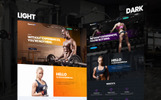 SportMax - Fitness & Bodybuilding Trainer Landing Page Template