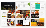 Food Drive - Presentation PowerPoint Template