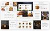 Food Drive - Presentation PowerPoint Template Big Screenshot