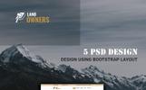 LandOwners - Multipurpose Property Dealing PSD Template