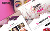 "PSD Vorlage namens ""BlossomBeauty - Multipurpose Beauty"" Großer Screenshot"