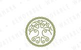Celtic Tree of Life Logo Template