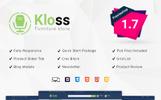 """PrestaShop Theme namens """"Kloss Furniture"""""""