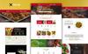 "Tema PSD #75753 ""TestyFork - Multipurpose Restaurant"" Screenshot grande"