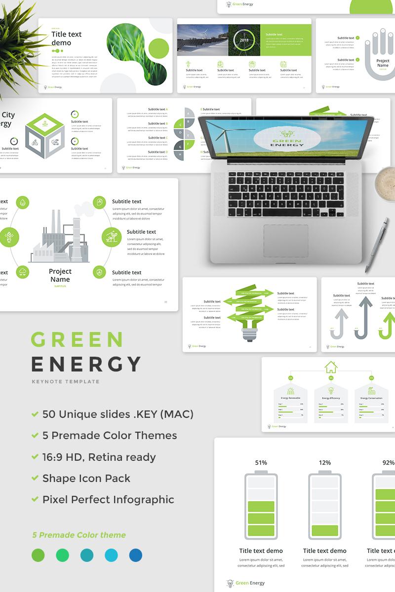 Green Energy Keynote Template 65736
