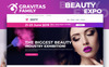 Gravitas - Beauty Expo MotoCMS 3 Landing Page Template New Screenshots BIG