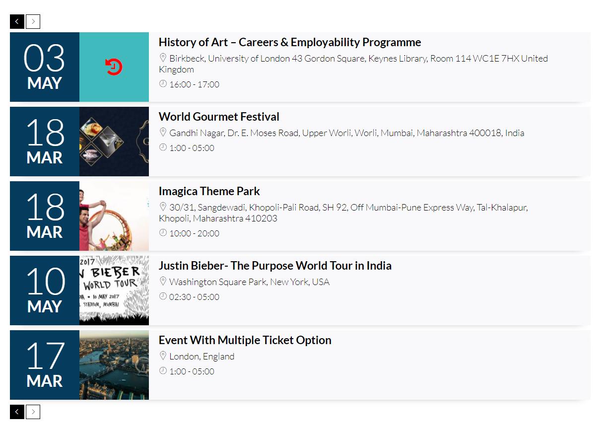 Event Manager WordPress Plugin #76440