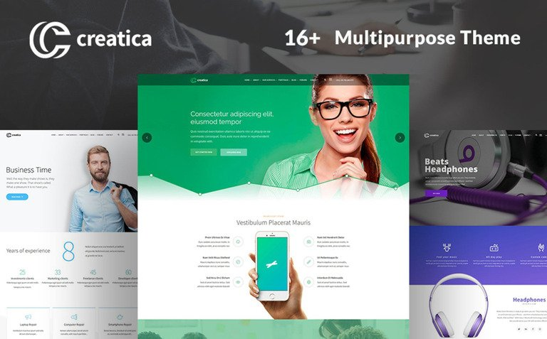 Creatica – Multipurpose Business WordPress Theme