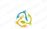 Global Food Logo Template