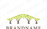Bridge of Trees Logo Template