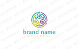 Transformation Circle Logo Template
