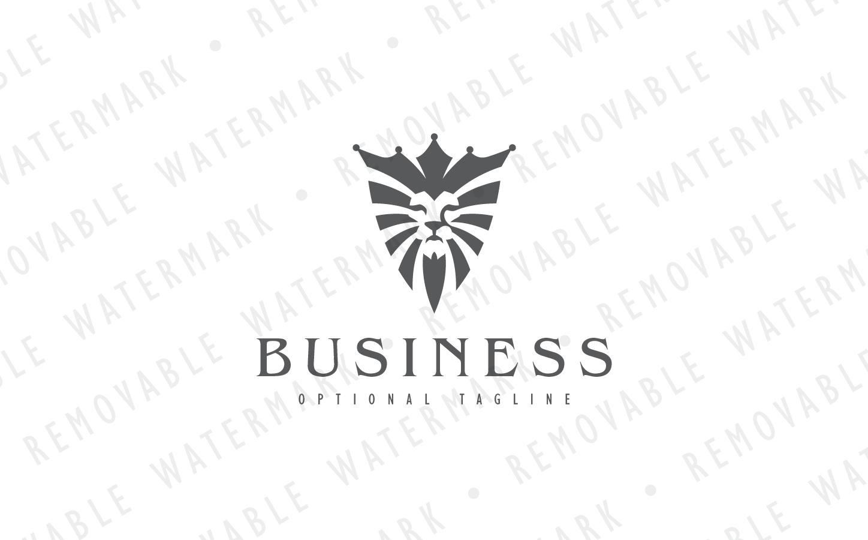 Lion Shield Logo Template #65721