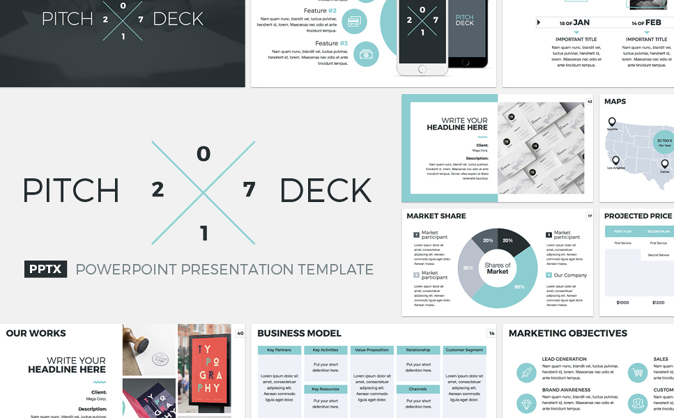 Pitch Deck Template Kleobeachfixco - Sequoia capital pitch deck template