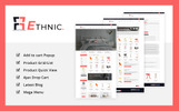 Ethnic 1.7 PrestaShop Theme