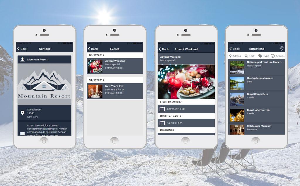 Plantilla de aplicación #65744 para Sitio de Restaurantes alemanes