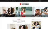 Katarina - Hair Salon Blog WordPress Theme