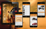 Responsivt Car Service Station App with Appointment Modul App Template