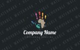 Hands for Africa Logo Template