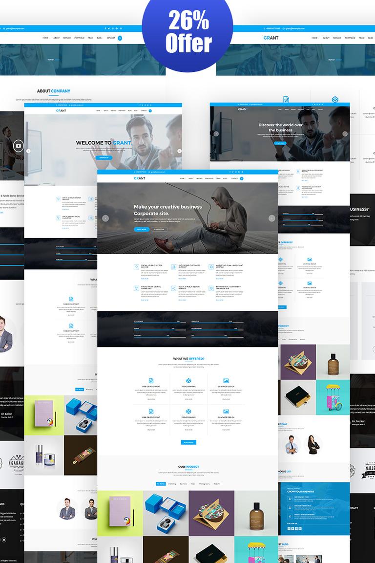 WordPress Theme #65797 für Marketing-Agentur
