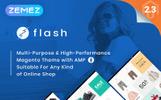 Flash - Tema Magento de Múltiplo Proposito e Alta Performance