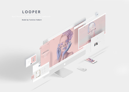 Looper - Multipurpose One/Multi Page