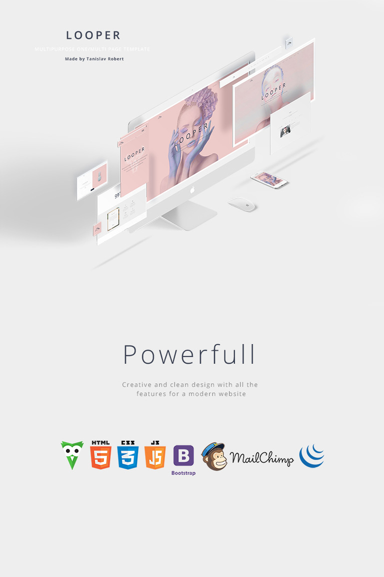 Looper - Multipurpose One/Multi Page Website Template